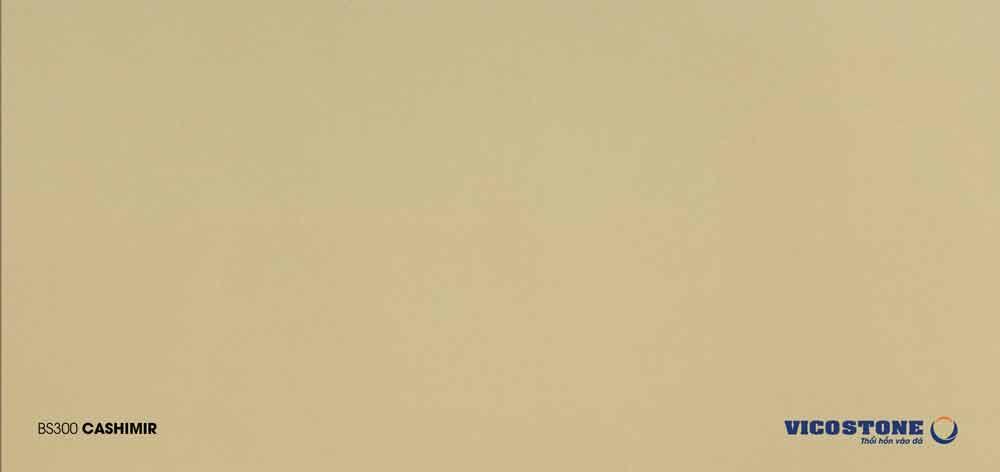 Mẫu đá nhân tạo màu vàng CASHIMIR BS300