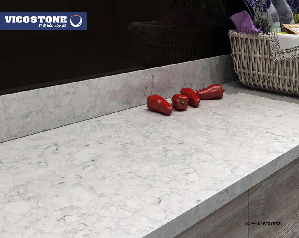 Mẫu đá VICOSTONE ECLIPSE BQ8840 bộ sư tập Natural